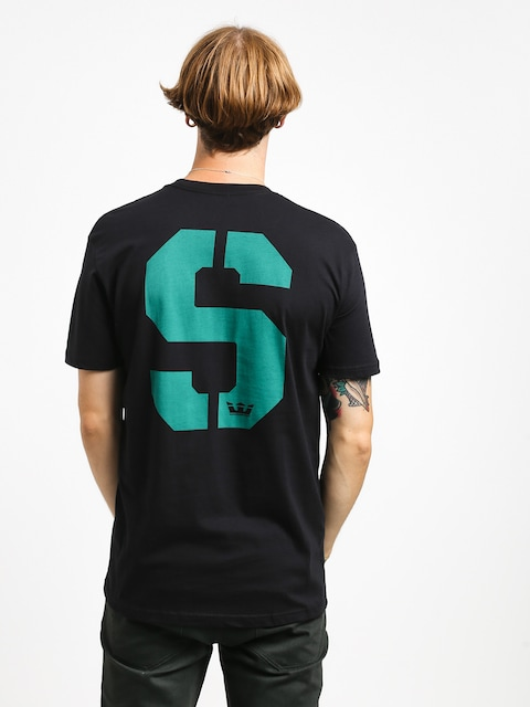 T-shirt Supra Stencil (black/teal)