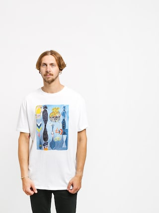 T-shirt Quiksilver Art House Photoprint (white)