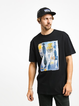T-shirt Quiksilver Art House Photoprint (black)