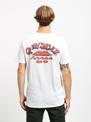 T-shirt Quiksilver Wave Count (white)