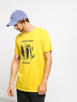 T-shirt Quiksilver Tin Can Love (sulphur)