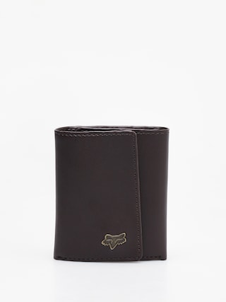 Portfel Fox Trifold Leather (brn)