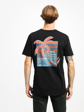 T-shirt Quiksilver In The Jungle (black)