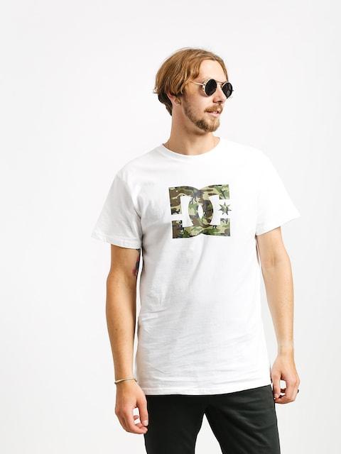 T-shirt DC Star (snow white/camo)
