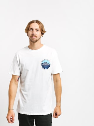 T-shirt Quiksilver Lake Chaser (white)