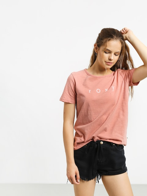 T-shirt Roxy Red Sunset Wmn (rosette)