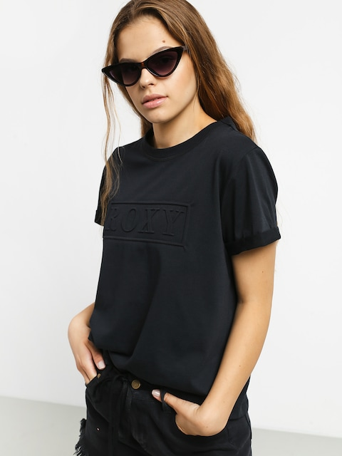 T-shirt Roxy Coastal Holidays Wmn (true black)