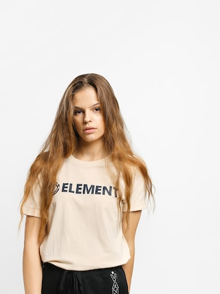 T-shirt Element Element Logo Wmn (white smoke)