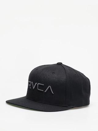 Czapka z daszkiem RVCA Rvca Twill Snapback ZD (black/charcoal)