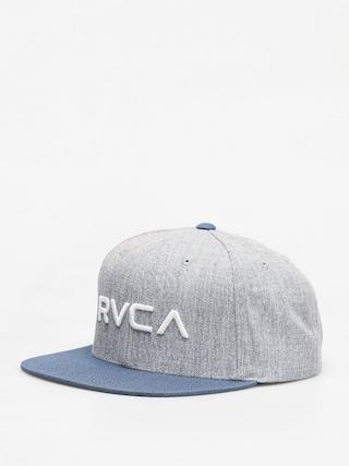 Czapka z daszkiem RVCA Rvca Twill Snapback ZD (grey blue)