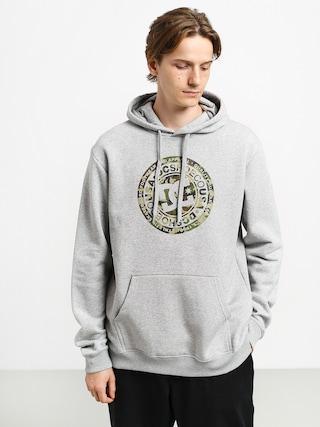 Bluza z kapturem DC Circle Star HD (grey heather/camo)