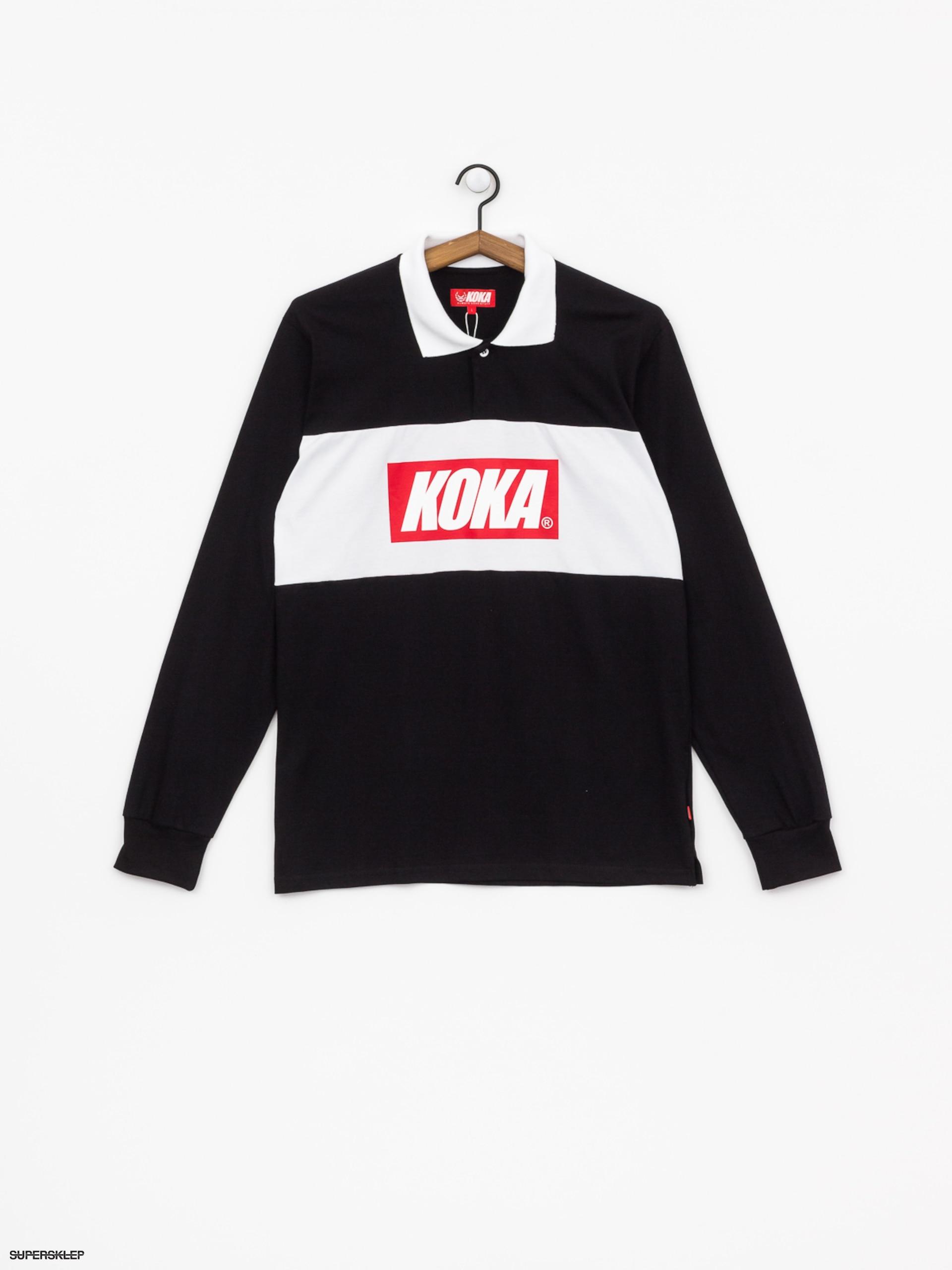 KOKA koszulka Longsleeve Rugby black