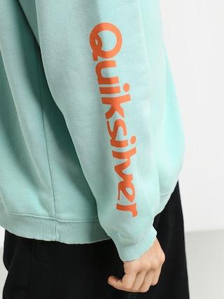 Bluza z kapturem Quiksilver Sweet As Slab HD (pastel turquoise)