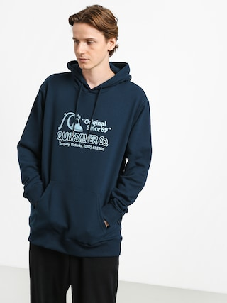 Bluza z kapturem Quiksilver Nelson Sun Screen Fleece HD (moonlit ocean)