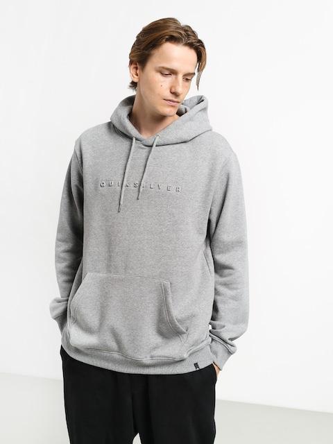 Bluza z kapturem Quiksilver Emboss HD (medium grey heather)