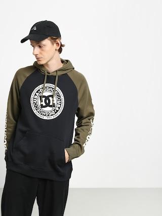 Bluza z kapturem DC Circle Star HD (black/fat gr/anti w)