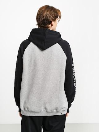 Bluza z kapturem DC Circle Star HD (grey heather/black)
