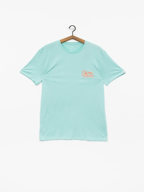 T-shirt Quiksilver Daily Wax (pastel turquoise)