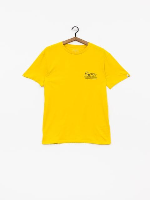 T-shirt Quiksilver Daily Wax (sulphur)