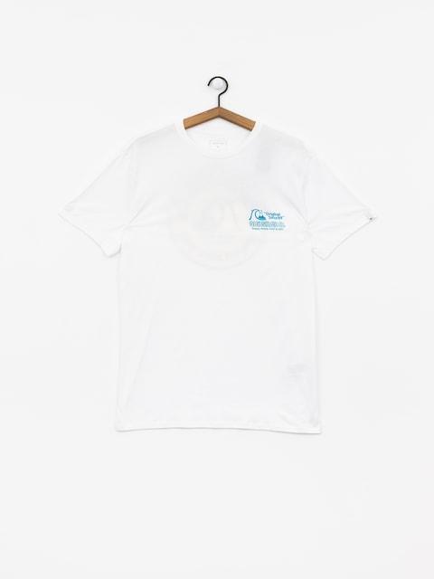 T-shirt Quiksilver Daily Wax (white)