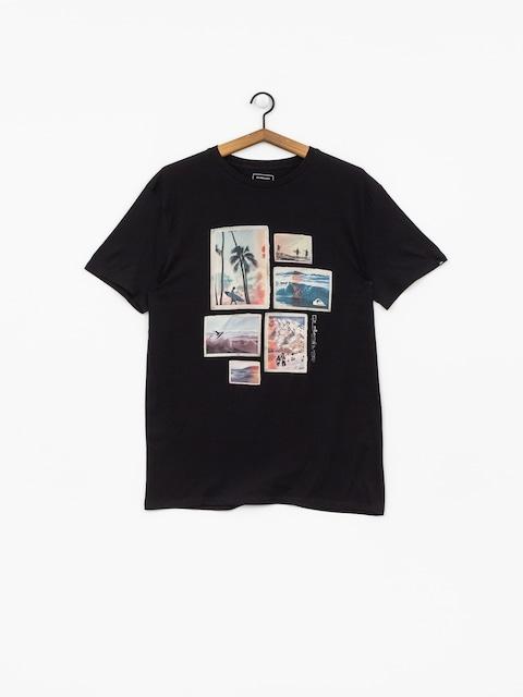 T-shirt Quiksilver Island Location (black)