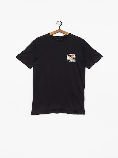 T-shirt Quiksilver Animal Party (black)