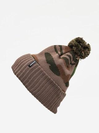 Czapka zimowa Patagonia Powder Town Beanie (bear witness knit/sage khaki)