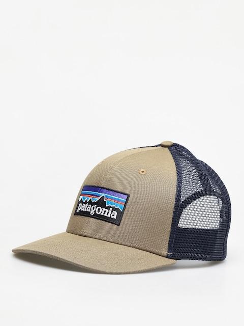 Czapka z daszkiem Patagonia P 6 Logo Trucker ZD (sage khaki)