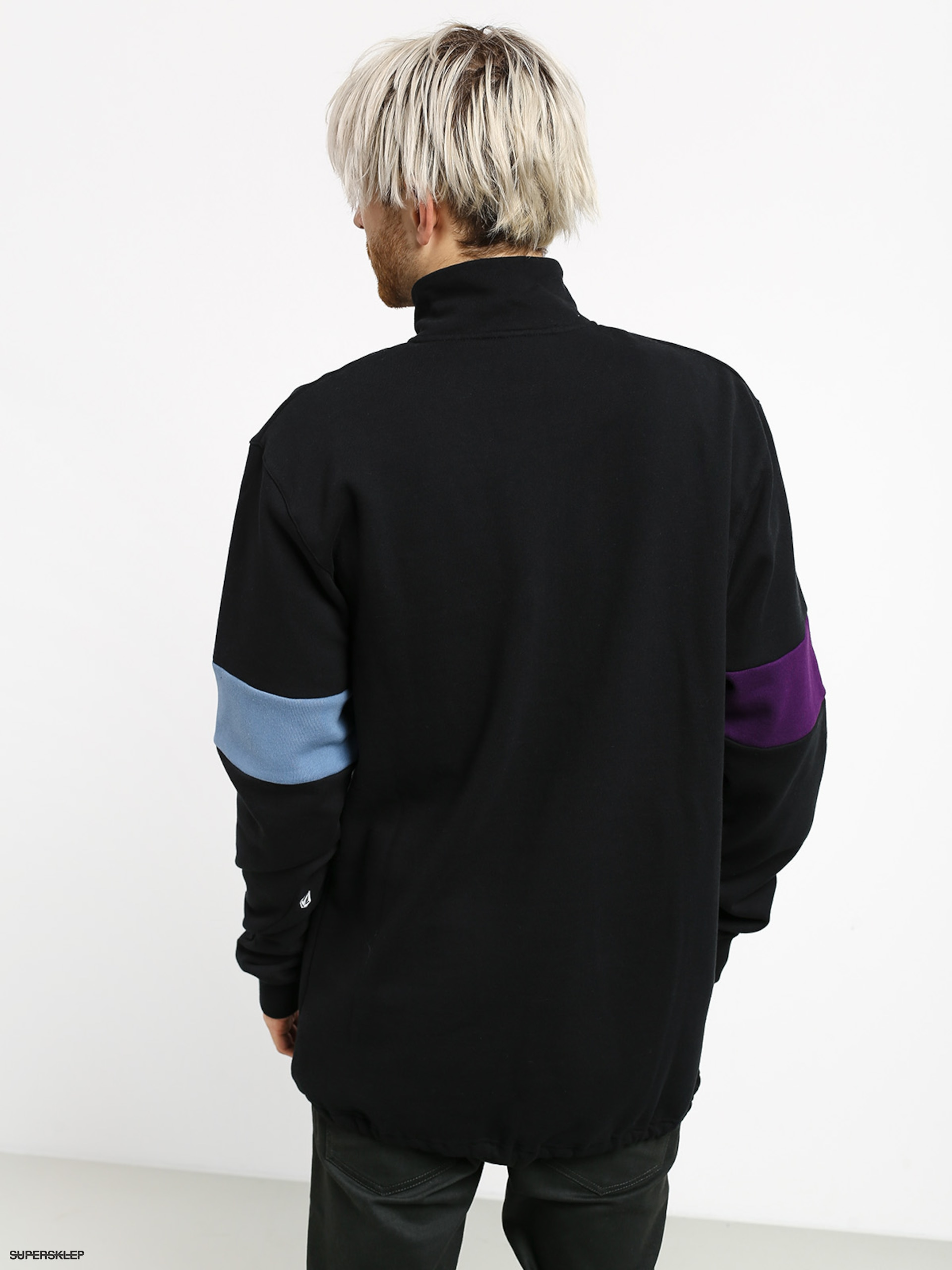 Bluza Volcom Rixon Fleece Crew (black)