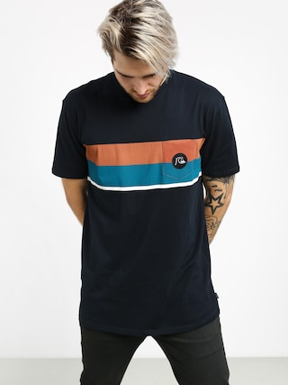T-shirt Quiksilver Multiply Stripe (sky captain)