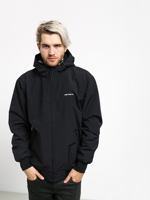 Kurtka Carhartt WIP Hooded Sail (black/white)