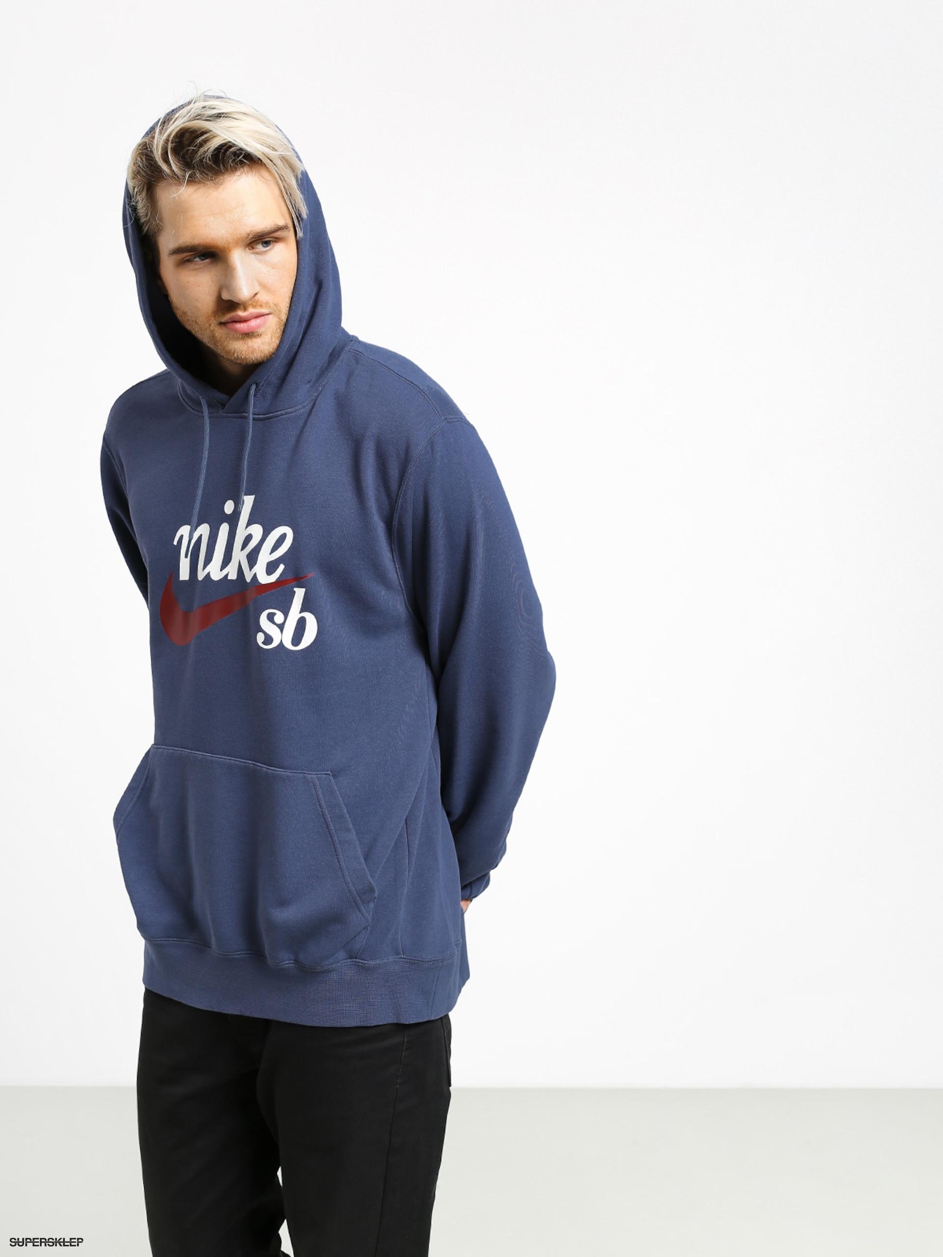 Bluza NIKE SB Hoody Washed Icon AO0263 452 XL