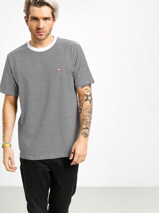 T-shirt Koka Stripes Label (black)