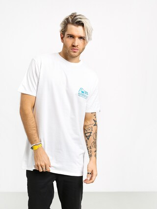 T-shirt Quiksilver Daily Wax (white)