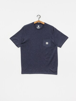 T-shirt Element Basic Pocket Label (indigo heather)
