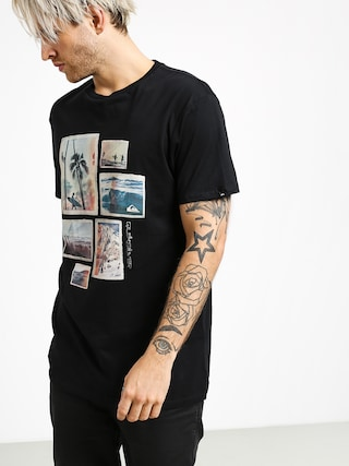 T-shirt Quiksilver Island Location (black)
