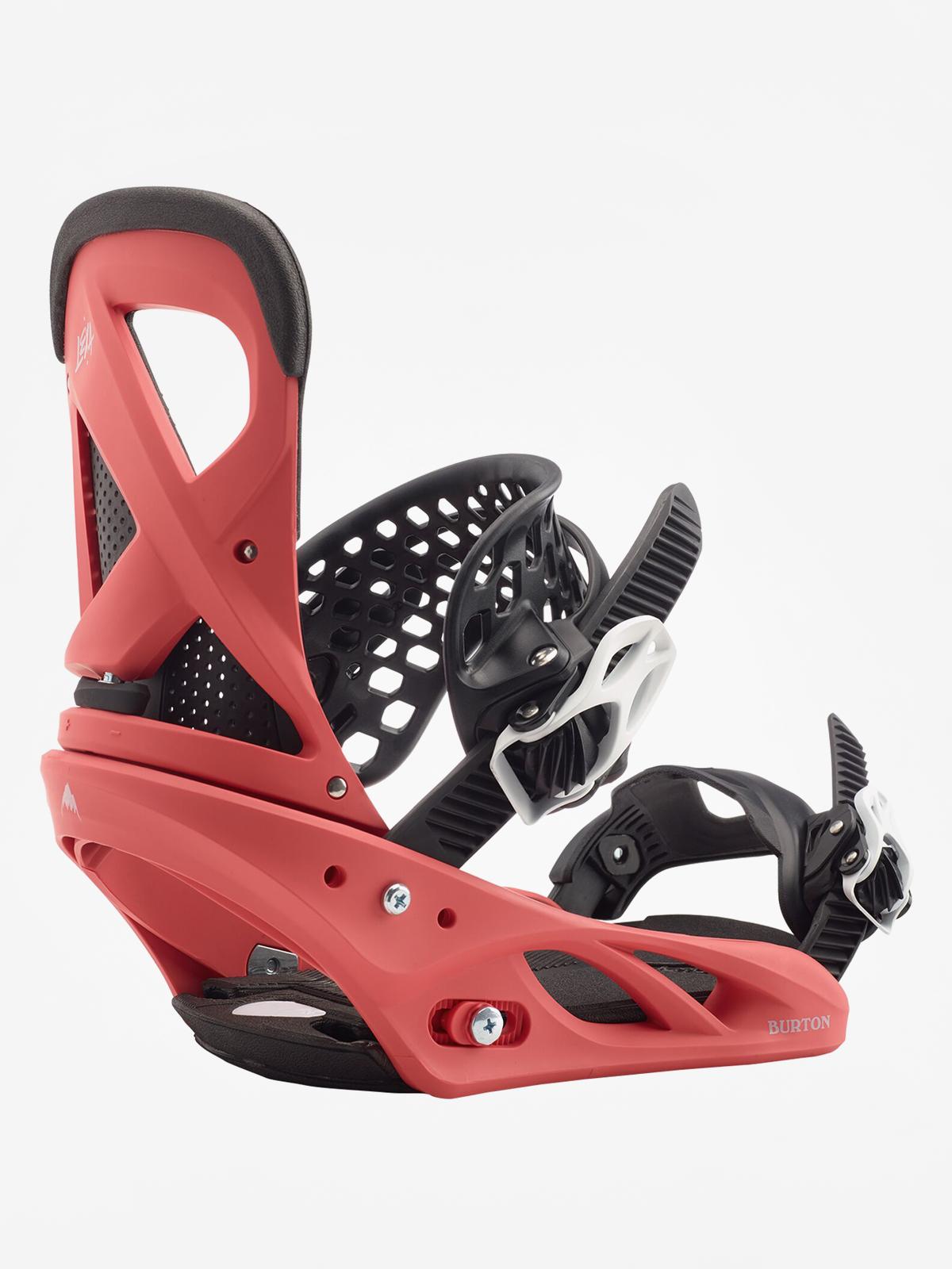 Wiu0105zania snowboardowe Burton Lexa Wmn (electric coral)