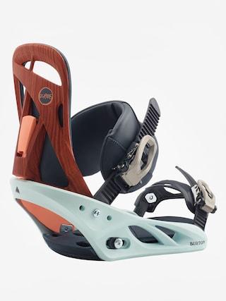 Wiązania snowboardowe Burton Scribe Wmn (wood grain jane)