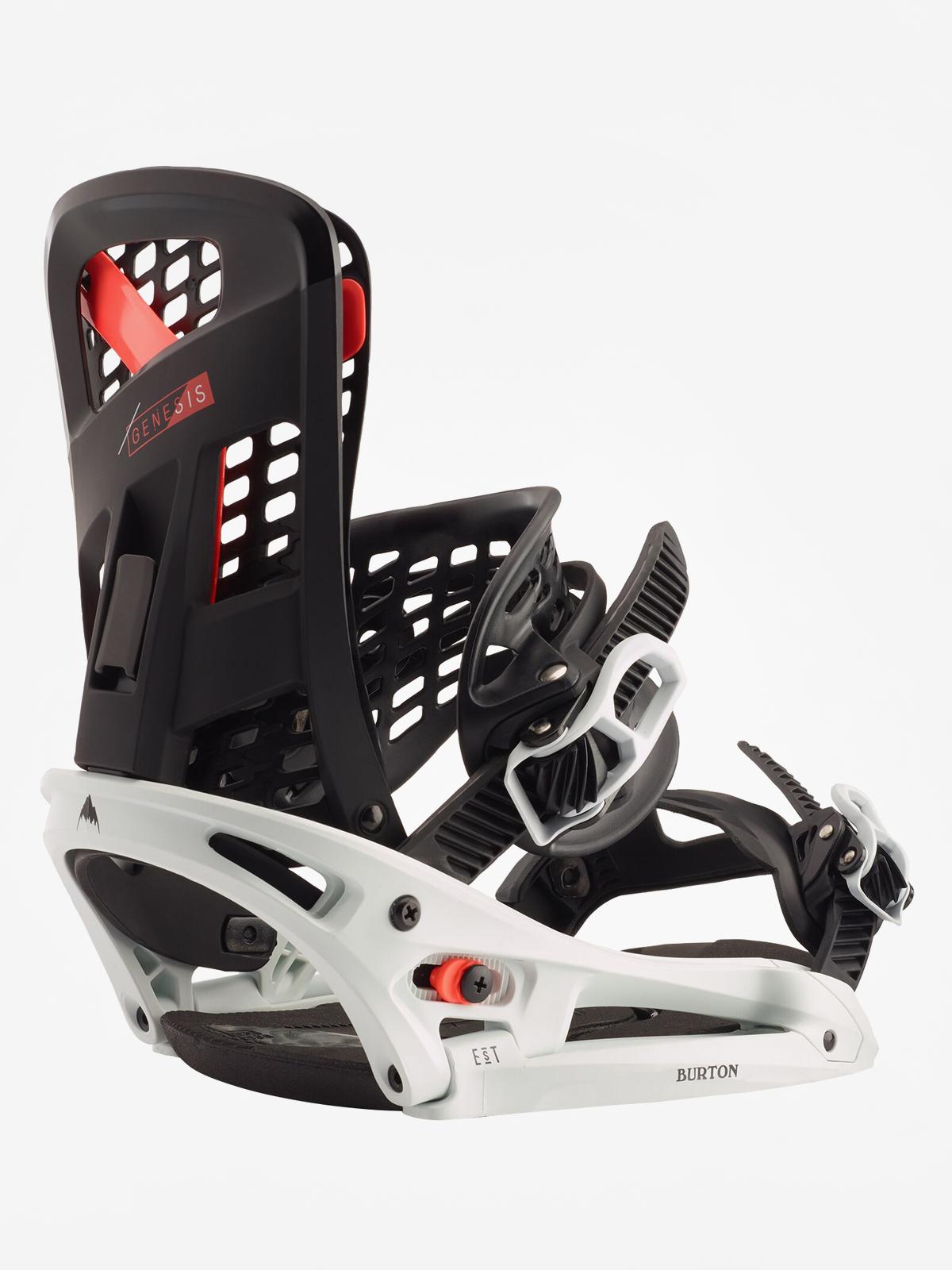 Wiu0105zania snowboardowe Burton Genesis Est (black/frost)