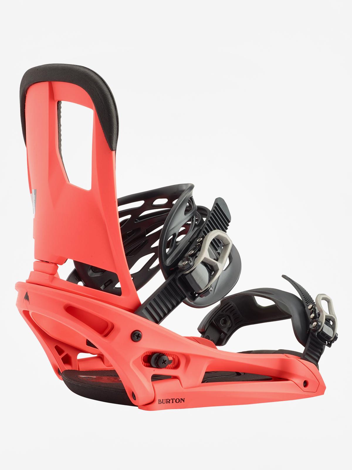 Wiu0105zania snowboardowe Burton Cartel Est (red)