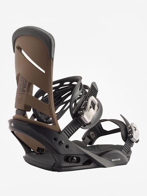 Wiązania snowboardowe Burton Mission (black/mocha)