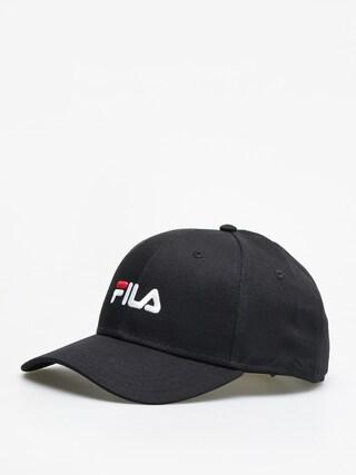 Czapka z daszkiem Fila 6 Panel Linear Logo (black)