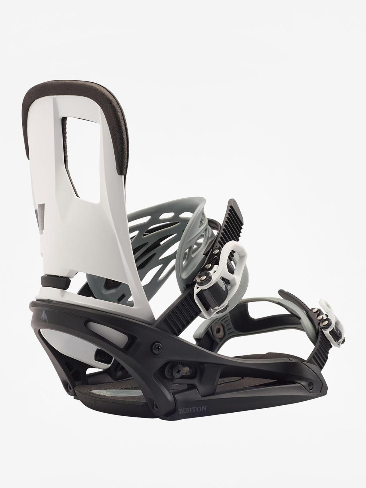 Wiu0105zania snowboardowe Burton Cartel Est (black/white)