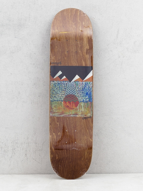 Deck Youth Skateboards Pyramids (brown)