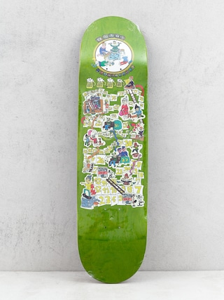 Deck Youth Skateboards The Game (green)