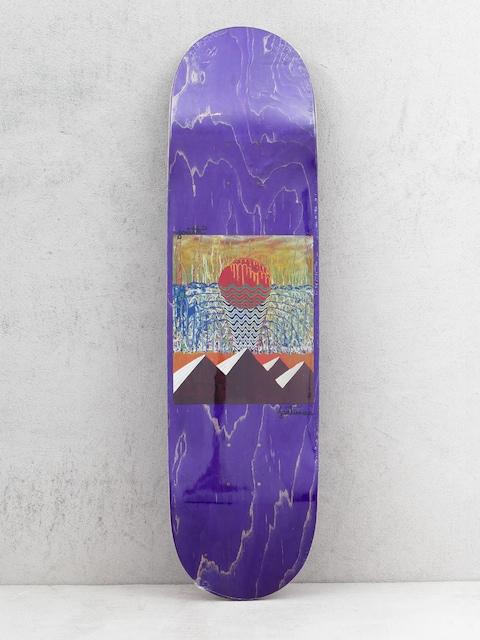 Deck Youth Skateboards Pyramids (purple)