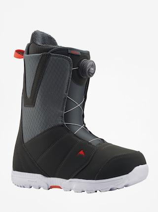 Buty snowboardowe Burton Moto Boa (gray/red)