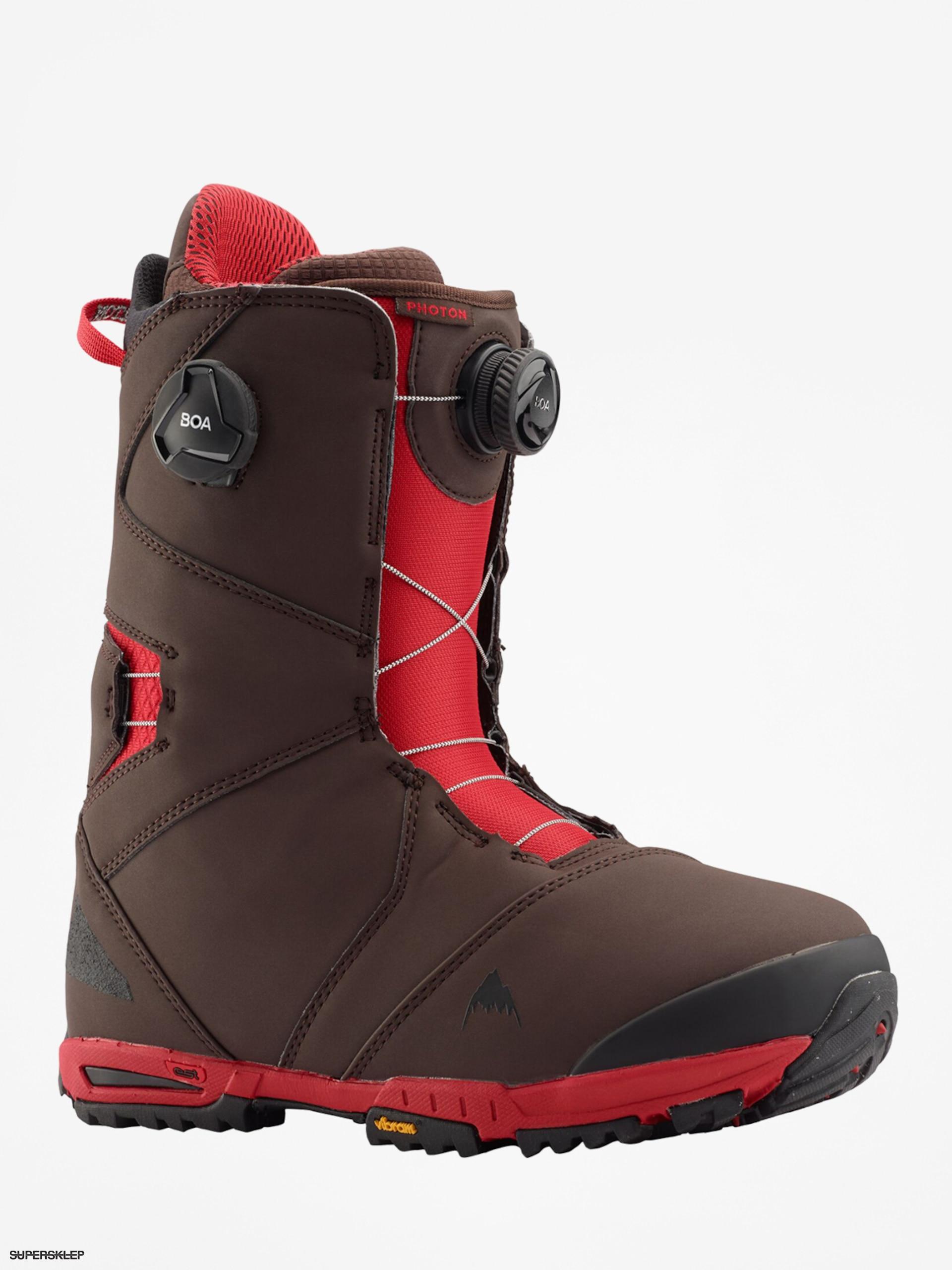 Buty Snowboardowe Burton Photon Boa Brown Red
