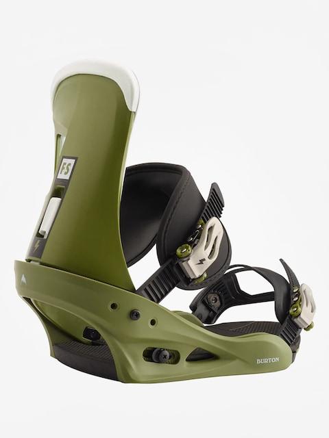 Wiązania snowboardowe Burton Freestyle (camp on green)