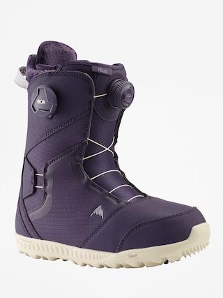 Buty snowboardowe Burton Felix Boa Wmn (purple velvet)